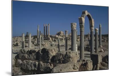 Libya, Tripolitania, Sabratha, Religious Curia Building--Mounted Giclee Print