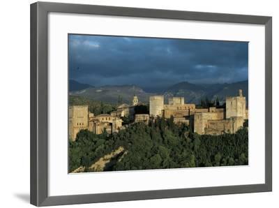 Spain, Andalusia Region, Granada Province, Granada, Alhambra Palace--Framed Giclee Print