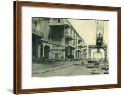 Odessa Ukraine, Refrigerator, Blick in Den Hafen--Framed Giclee Print