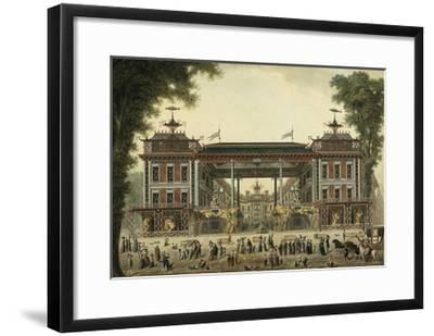 The Chinese Baths and Boulevard Des Italiens--Framed Giclee Print