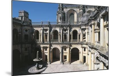 Portugal, Tomar, Convent of Order of Christ, Cloister--Mounted Giclee Print