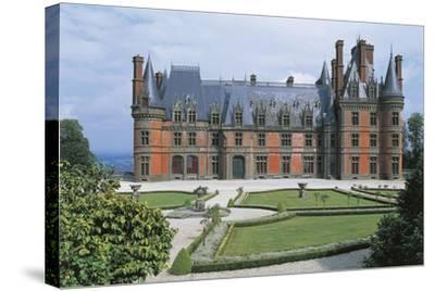 France, Brittany, Trevarez, Renaissance Castle--Stretched Canvas Print