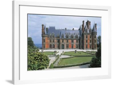 France, Brittany, Trevarez, Renaissance Castle--Framed Giclee Print
