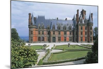 France, Brittany, Trevarez, Renaissance Castle--Mounted Giclee Print
