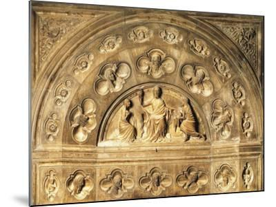 Italy, Milan Cathedral, Blessing Redeemer, Lunette from Above Entrance to Northern Sacristy--Mounted Giclee Print