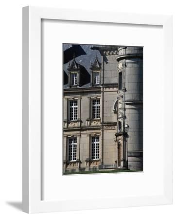 Chateau Stephen Liegeard, 1895-1902, Brochon, Burgundy, Detail, France, 19th-20th Century--Framed Giclee Print