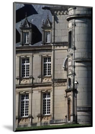 Chateau Stephen Liegeard, 1895-1902, Brochon, Burgundy, Detail, France, 19th-20th Century--Mounted Giclee Print