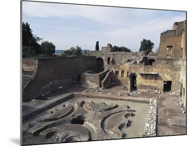 Italy, Latium Region, Rome, Palace of Domitian on Palatine Hill--Mounted Giclee Print