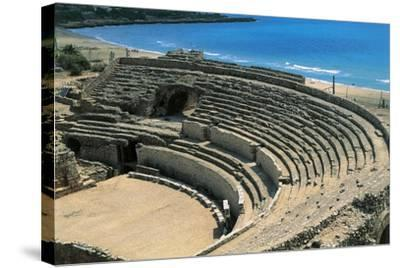 Spain, Catalonia, Tarragona, Roman Amphitheater--Stretched Canvas Print