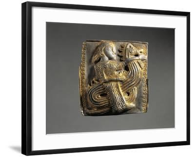 Bulgaria, Harness Stud Decorated with a Relief Depicting a Nereid Riding a Hippocampus--Framed Giclee Print