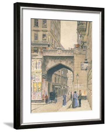 View of Vienna, Austria 20th Century--Framed Giclee Print