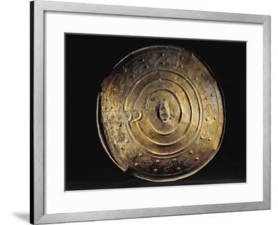 Bronze Shield from Nackhalle, Sweden--Framed Giclee Print