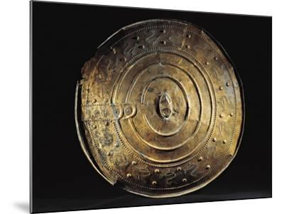 Bronze Shield from Nackhalle, Sweden--Mounted Giclee Print
