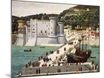 Aragonese Fleet Returning to Naples Victorious after the Battle of Ischia July 12, 1468--Mounted Giclee Print