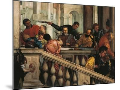 Italy, Venice, Feast in House of Levi, Guests--Mounted Giclee Print