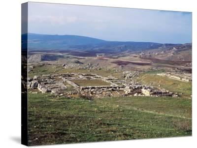 Turkey, View of Hattusa, Ancient Capital of Hittite Empire--Stretched Canvas Print
