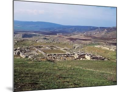 Turkey, View of Hattusa, Ancient Capital of Hittite Empire--Mounted Giclee Print