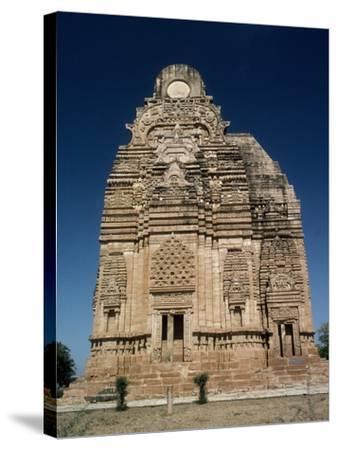 India, Madhya Pradesh, Yasovarman Temple in Gwalior, Indian Civilization--Stretched Canvas Print