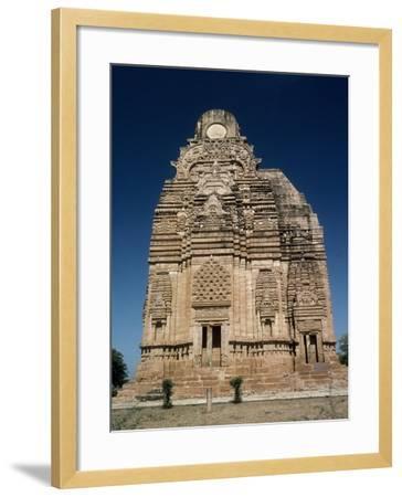 India, Madhya Pradesh, Yasovarman Temple in Gwalior, Indian Civilization--Framed Giclee Print