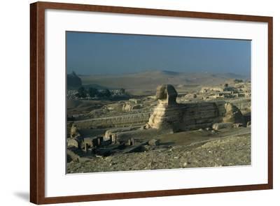 Egypt, Cairo, Giza, Great Sphinx--Framed Giclee Print