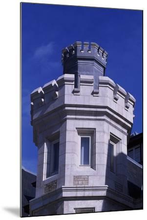 Spain, Cantabria, Santander, Magdalena Royal Palace, Tower--Mounted Giclee Print