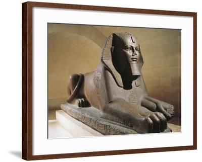 Great Sphinx of Tanis, Pink Granite--Framed Giclee Print