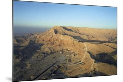 Egypt, Thebes, Luxor, Valley of Kings, Deir El-Bahri, Mortuary Temple of Hatshepsut, New Kingdom--Mounted Giclee Print