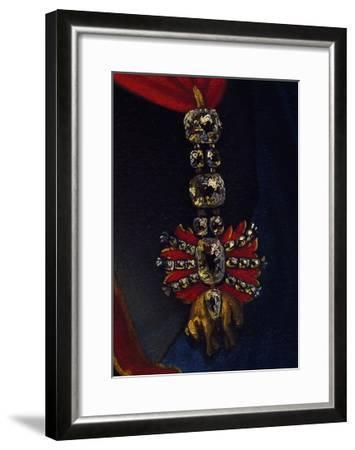 Order of Golden Fleece, Spanish and Austrian Honour, Detail from Painting--Framed Giclee Print
