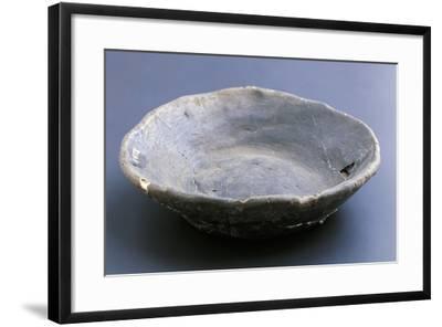 Small Dish, Lagozza Civilization--Framed Giclee Print