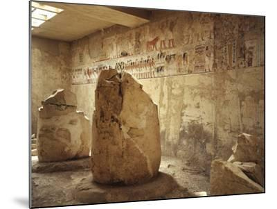 Egypt, Ancient Thebes, Luxor, Valley of Nobles, Tomb of Ramose Depicting Funeral Procession--Mounted Giclee Print