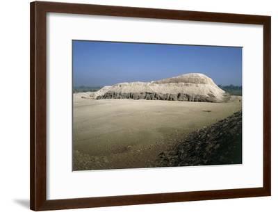 Egypt, Meidum, Mastaba of Rahotep and Nofret--Framed Giclee Print
