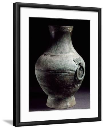 Ritual Food Vessel, China, Warring States Period, 5th-3rd Century BC--Framed Giclee Print
