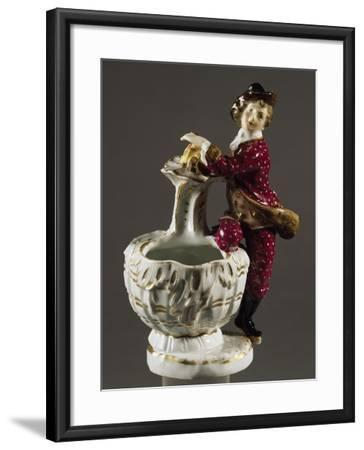 Jar with Male Figure, Circa 1750--Framed Giclee Print