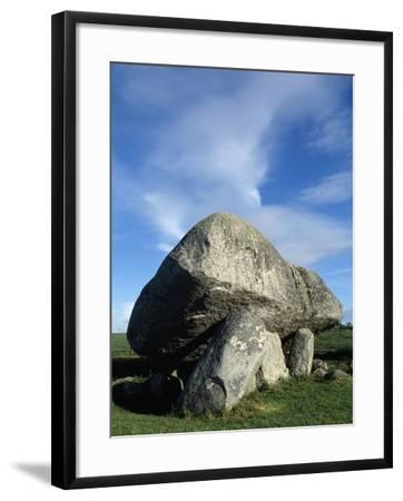 Brownshill Dolmen also known as Kernanstown Cromlech--Framed Giclee Print