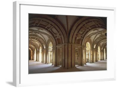 Portugal, Tomar, Cloister at Convent of Christ, UNESCO World Heritage List, 1983--Framed Giclee Print