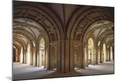 Portugal, Tomar, Cloister at Convent of Christ, UNESCO World Heritage List, 1983--Mounted Giclee Print