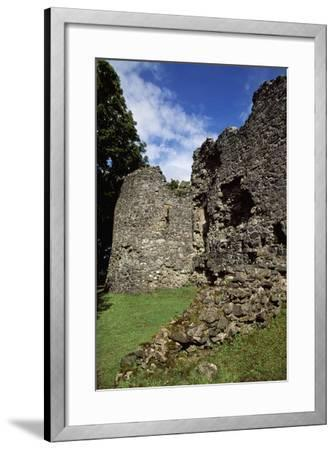 View of Inverlochy Castle, Near Fort William, Inverness-Shire, Scotland, 13th Century--Framed Giclee Print