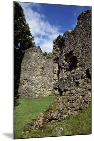 View of Inverlochy Castle, Near Fort William, Inverness-Shire, Scotland, 13th Century--Mounted Giclee Print