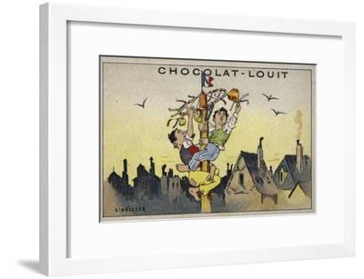 L'Agilite--Framed Giclee Print