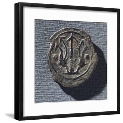 Coin from Vetulonia--Framed Giclee Print