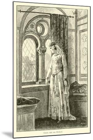 Countess Ada of Holland-Willem II Steelink-Mounted Giclee Print
