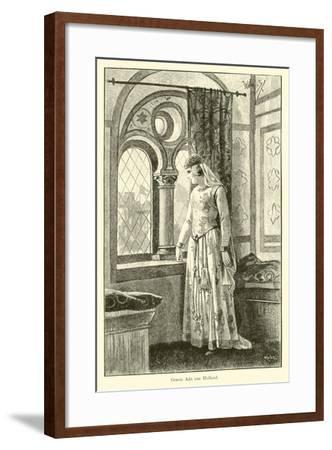 Countess Ada of Holland-Willem II Steelink-Framed Giclee Print