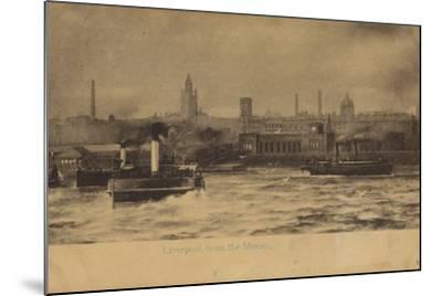 Liverpool, from the Mersey-English Photographer-Mounted Photographic Print