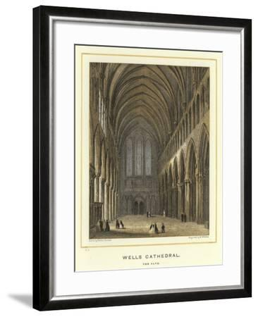 Wells Cathedral, the Nave-Hablot Knight Browne-Framed Giclee Print