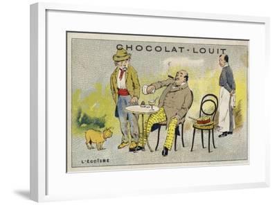 L'Egoisme--Framed Giclee Print