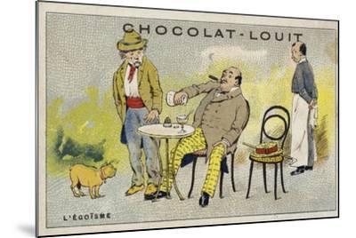 L'Egoisme--Mounted Giclee Print