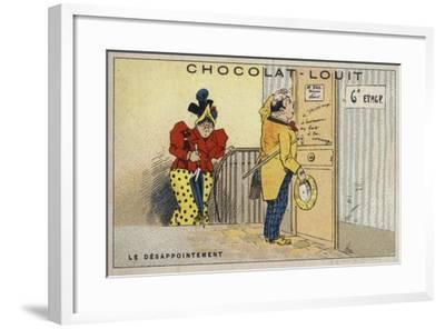 Le Desappointement--Framed Giclee Print