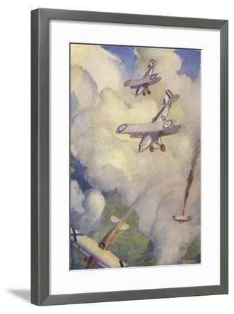 The Chase--Framed Giclee Print