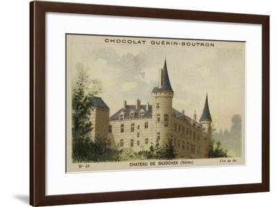 Chateau De Bazoches, Nievre--Framed Giclee Print