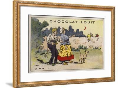 La Peur--Framed Giclee Print